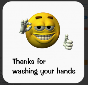 thanksforwashingyourhands