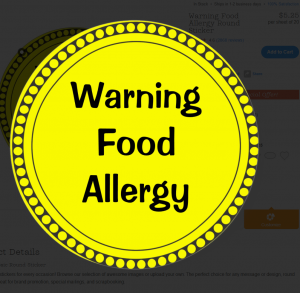 warningfoodallergy